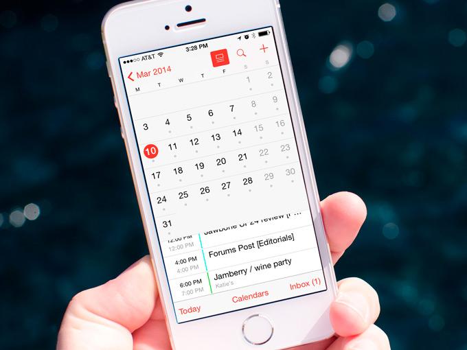 Пользователи жалуются на ошибку в приложении Календарь в iOS 8