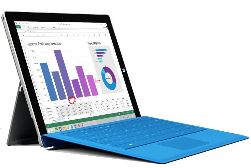 Microsoft представила самый тонкий и лёгкий планшет из серии Surface