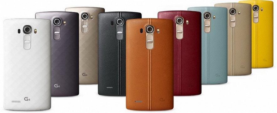 Официальный релиз нового флагмана LG G4