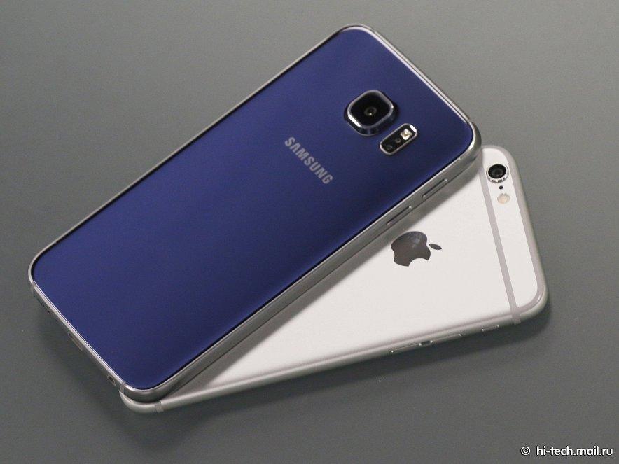 Galaxy S6 - достойный конкурент iPhone 6 или ошибка Samsung?