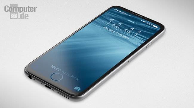 [Концепт] iPhone 7 с «вмонтированной» в экран кнопкой «Домой»