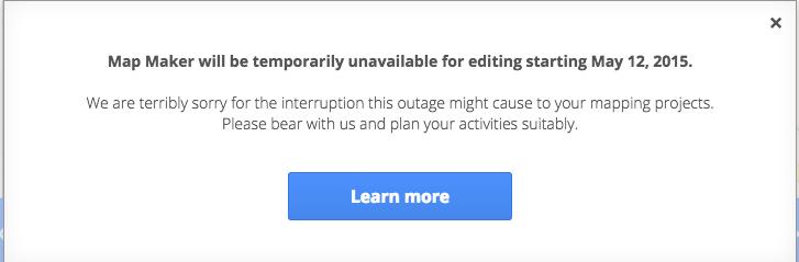"""Google закрыла сервис """"народных"""" карт из-за глумления над Apple"""