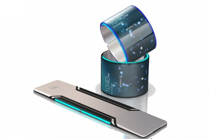BLU - уникальный смартфон, который можно сгибать