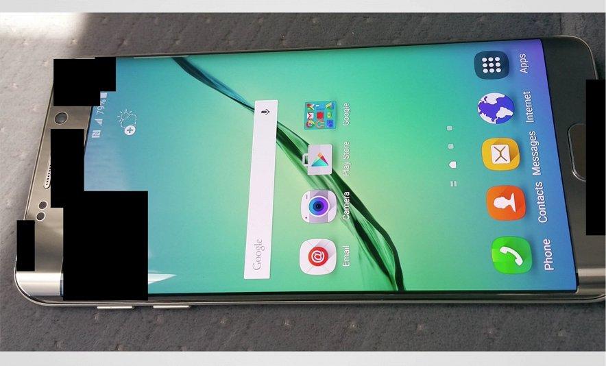 Первое «живое» фото Samsung Galaxy S6 Plus