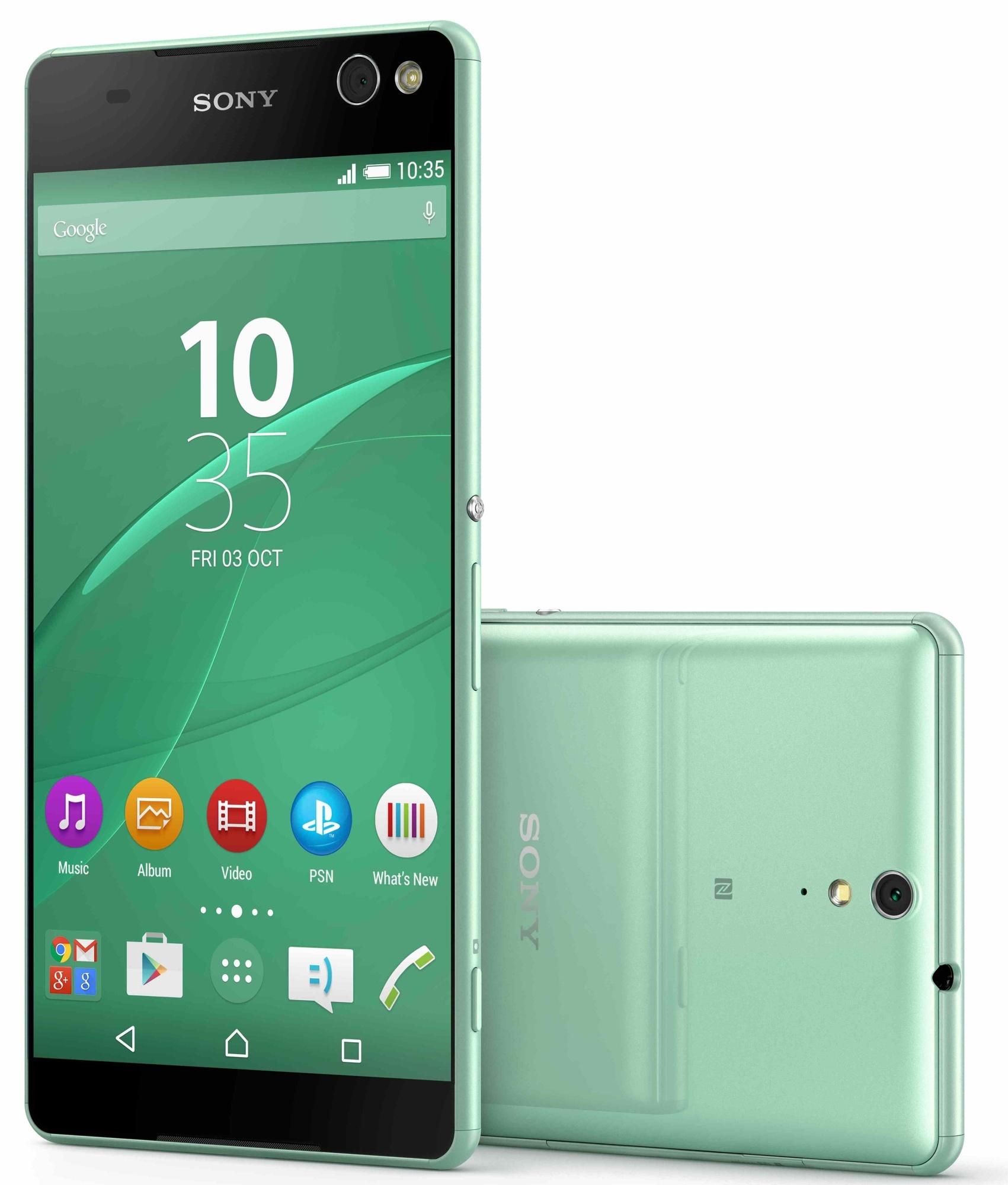 Официально: уникальный безрамочный смартфон Sony