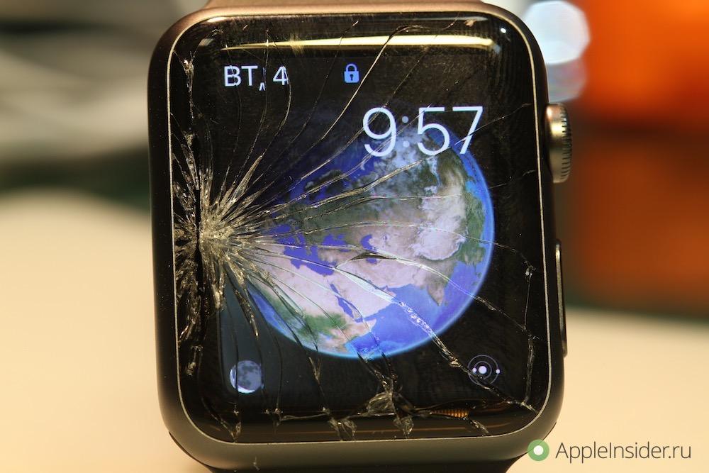 Замена стекла Apple Watch [инструкция]