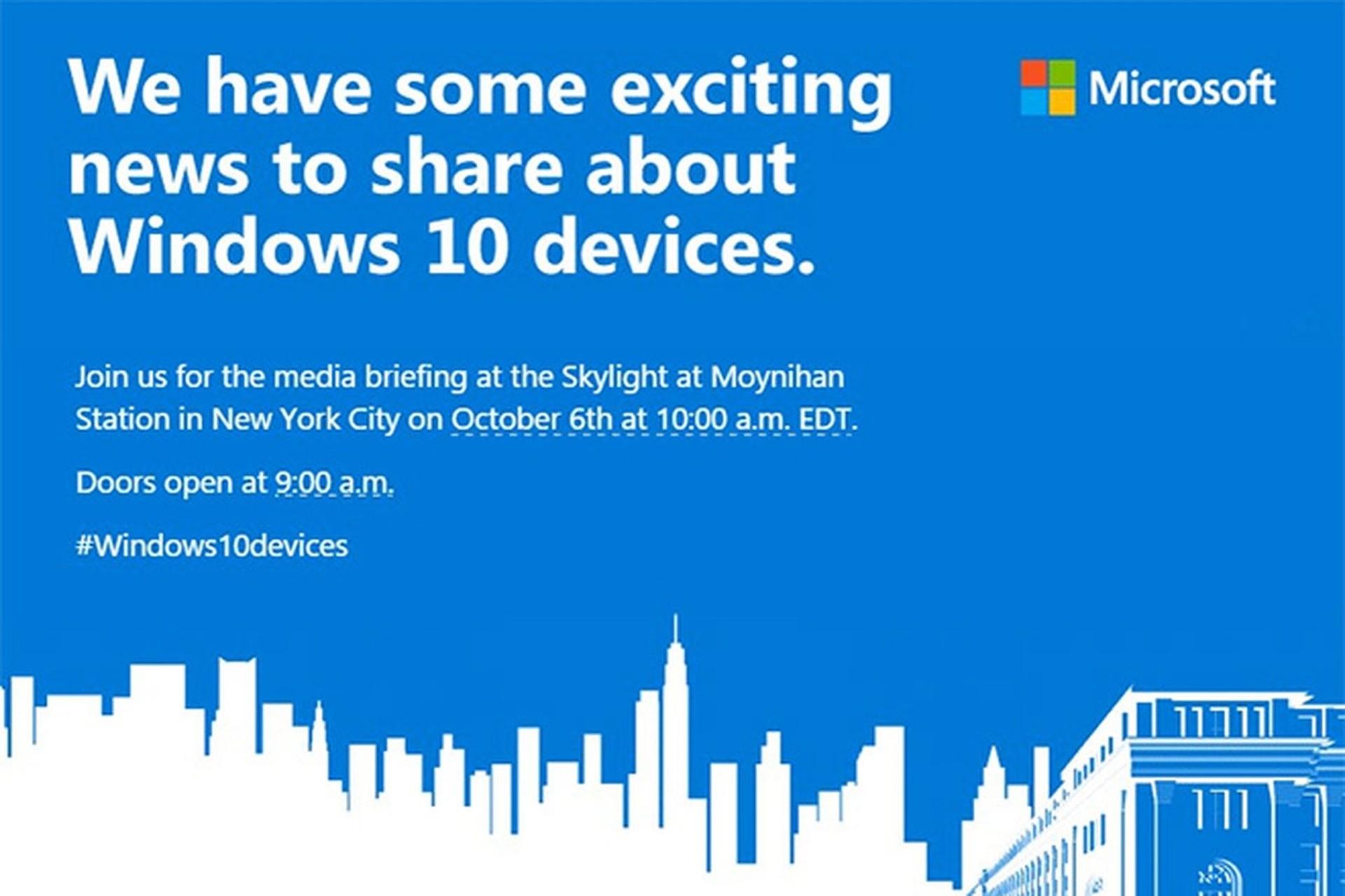 Стала известна дата анонса флагманов Microsoft