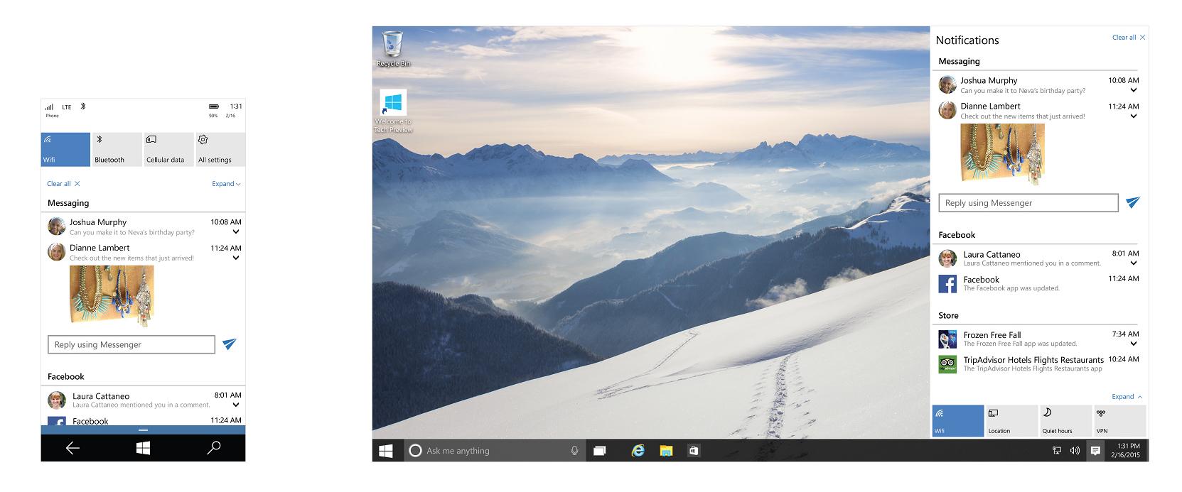 Официально: дата выхода новейшей Windows 10 Mobile