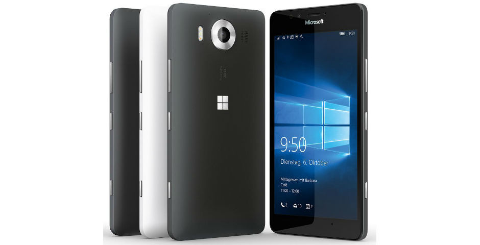 Microsoft Lumia 950 XL получит съемный аккумулятор
