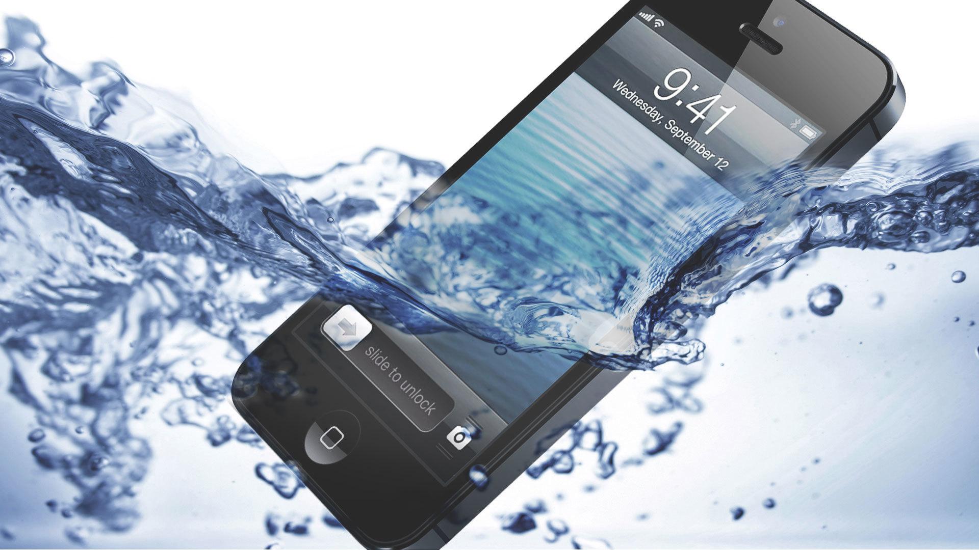 Apple изобрела новую технологию защиты гаджетов от воды