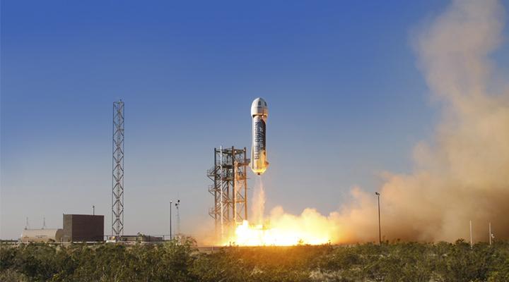 Blue Origin успешно испытала первую в мире многоразовую ракету (видео)