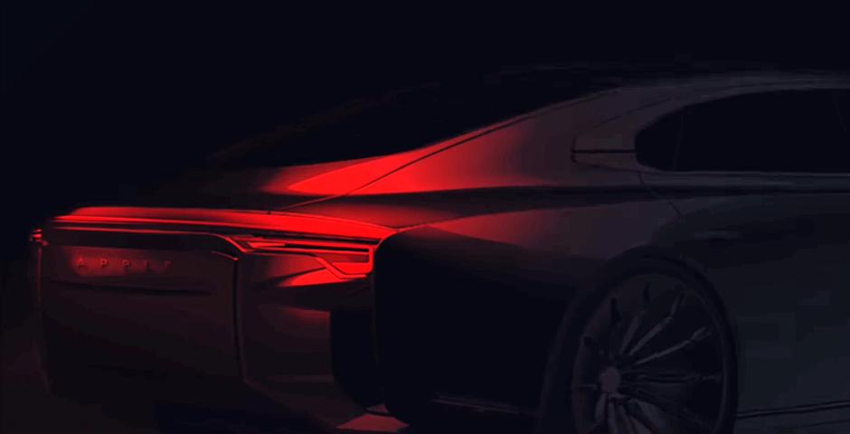 Утечка: концепт электромобиля Apple показали на видео