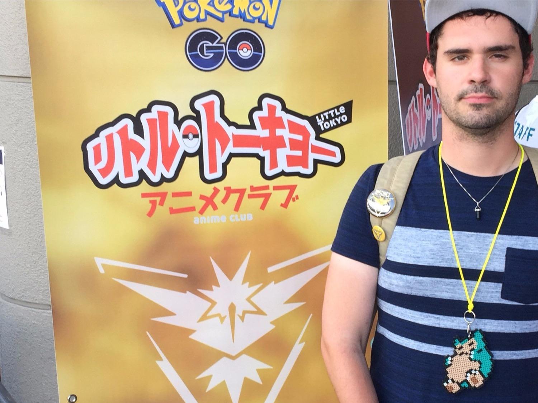 24-летний парень бросил работу ради игры в Pokemon Go