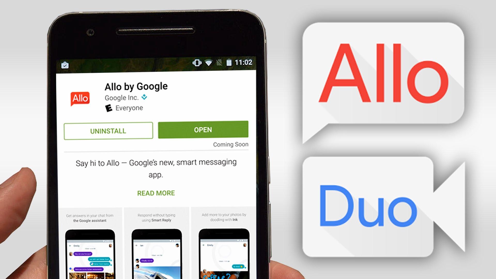 Google представил конкурента WhatsApp и Telegram — мессенджер Allo