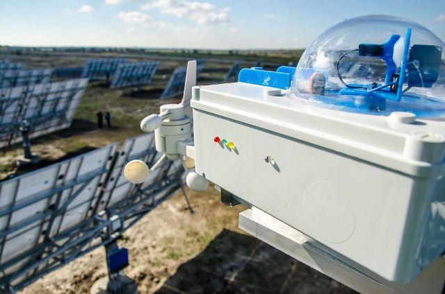 В Днепропетровской области заработала первая в Восточной Европе подвижная солнечная электростанция