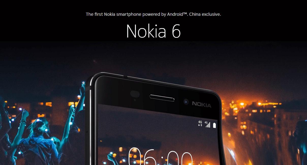 Компания Nokia возвращается: смартфон Nokia 6 представлен официально