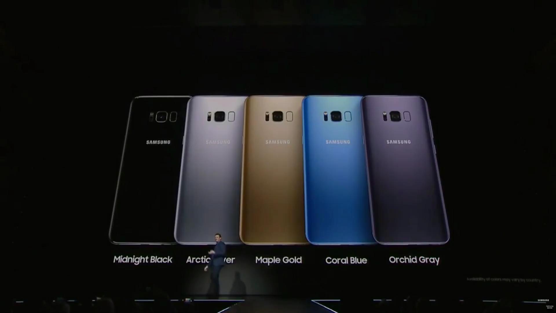 Samsung Galaxy S8 и S8 Plus представлены официально