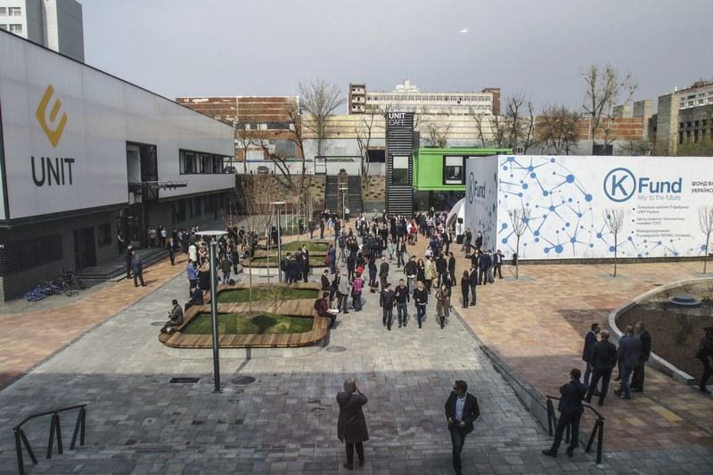 Как выглядит первый в Украине инновационный городок UNIT.City