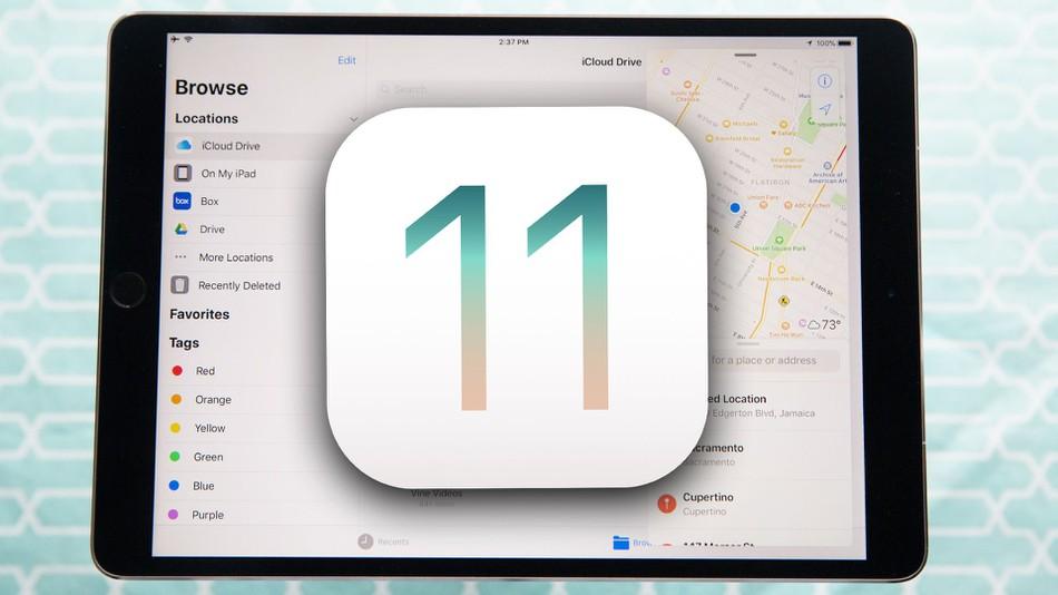 iOS 11 стала доступна для загрузки