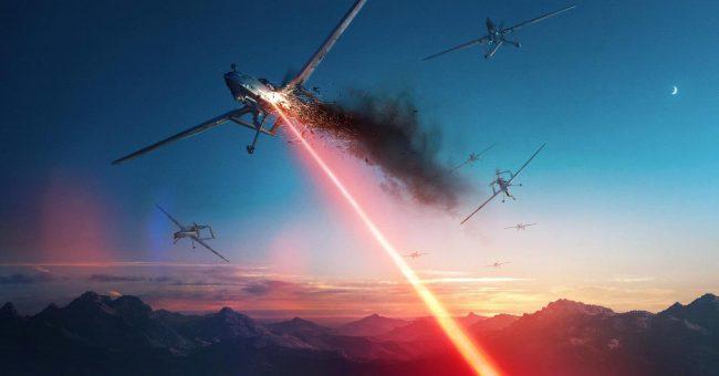 Американский боевой лазер уничтожил пять беспилотников