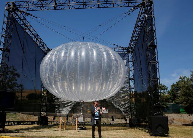 Воздушные шары Google восстановили сотовую связь в Пуэрто Рико
