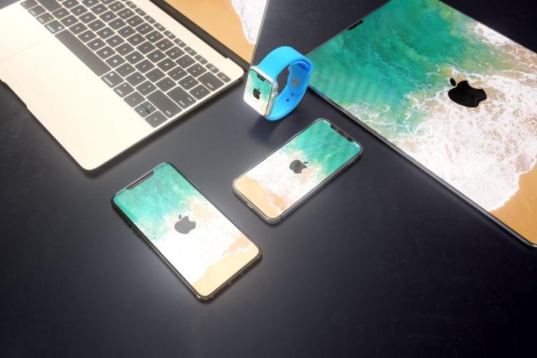 Как могли бы выглядеть iPad X, MacBook X, iMac X и Apple Watch X