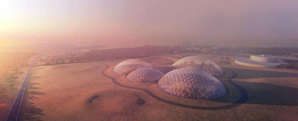 В ОАЭ построят целый город для имитации жизни на Марсе