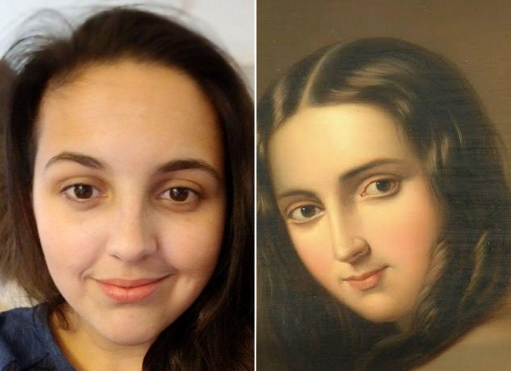 Как приложение Google будет искать вашего двойника на полотнах художников