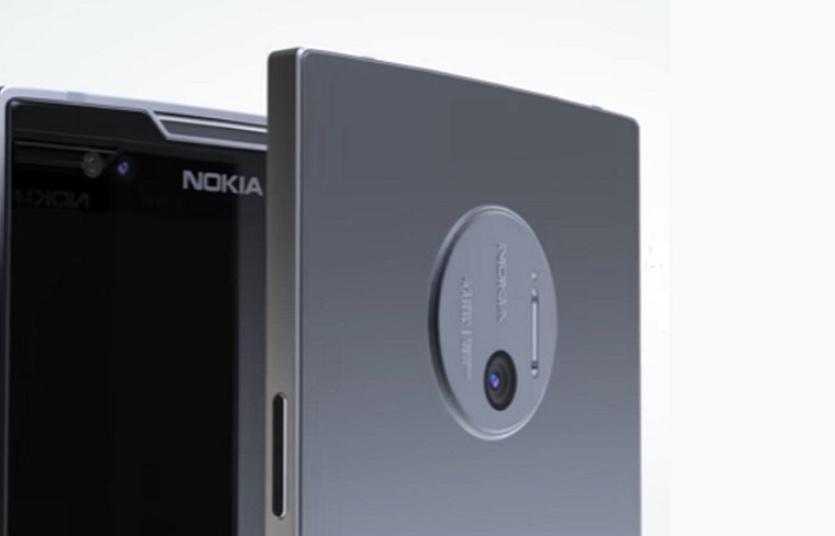 Nokia засветила смартфон с 5-ю камерами [фото]